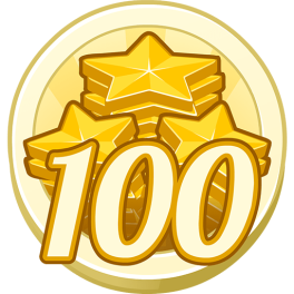 100 Treasure Points