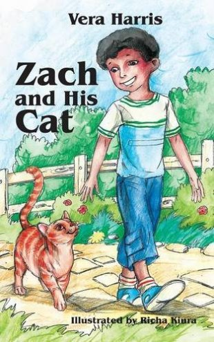 Zach and His Cat by Vera Harris